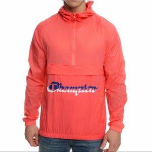 Champion Manorak Papaya Men's Anorak Jacket   NWT